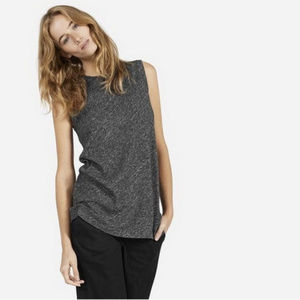 Everlane Wool Cotton Charcoal Sweater Tank